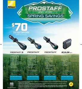 PROSTAFF AND MORE SPRING SAVINGS
