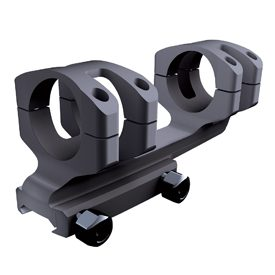 16405 BLACK Cantilever Mount 1-Piece (20MOA Cant) - MSR Height