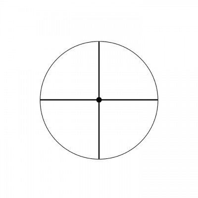 Fine Crosshair w/ Dot Reticle