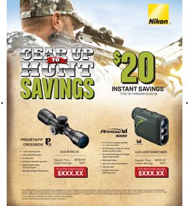 GEAR UP TO HUNT SAVINGS