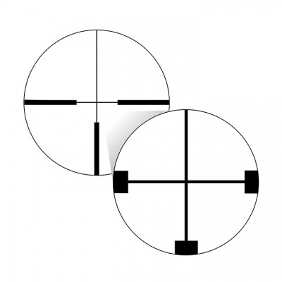 German #4 Reticle