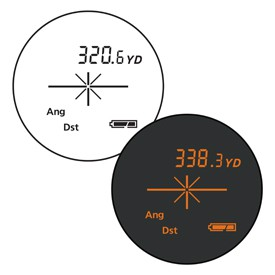 RifleHunter 1000 Active Brightness Viewfinder Control Reticle