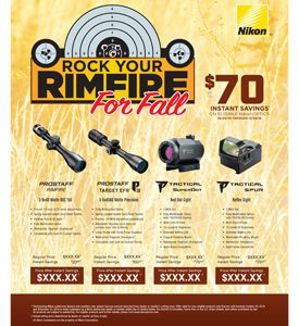 ROCK YOUR RIMFIRE FOR FALL