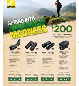 SPRING INTO MONARCH MADNESS INSTANT SAVINGS
