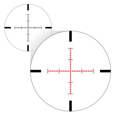 X-MOA Illuminated Reticle