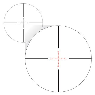 X-MRAD Illuminated Reticle